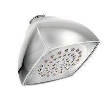 "Moen chrome one-function 4-1/16"" diameter spray head eco-performance showerhead"
