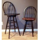 "#227 Bow Back Counter Stool 18""wx17""dx40""h Product Image"