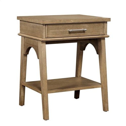 Chelsea Square French Toast Bedside Table