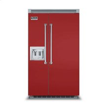 "48"" Side-by-Side Refrigerator/Freezer with Dispenser"