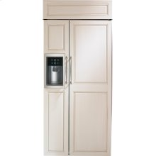 "Monogram 36"" Built-In Side-by-Side Refrigerator with Dispenser - AVAILABLE EARLY 2020"