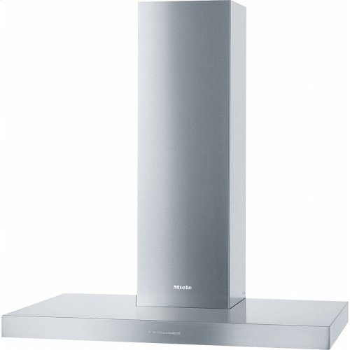 PUR 98 W Wall ventilation hood with energy-efficient LED lighting and backlit controls for easy use.