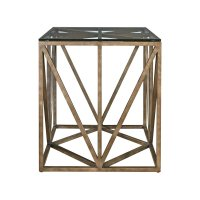 Truss Square End Table Product Image