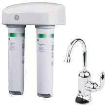 DUAL STAGE WATER FILTRATION SYSTEM