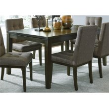 321-T4066/C6501  Rectangular Leg Table and 6 Chairs