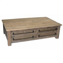 Coffee Table w/ 4-Drawers