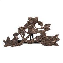 Chickadee Hose Holder - Oil Rubbed Bronze