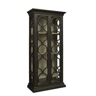 Black Caspian Single Cabinet