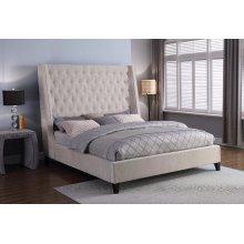 Elaina Porcelain Upholstered Bed Collection