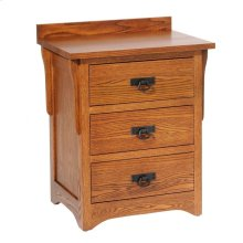 San Juan Mission 3 Drawer Nightstand