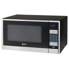 1.1 CF Touch Microwave - Stainless Steel Door Frame and Black Cabinet