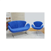 Double Check Color Availability Fabric, Foam, Steel Frame, 4 Star Aluminum Base Occasional Chair.