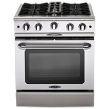 "Culinarian 30"" Gas Manual Clean Range"