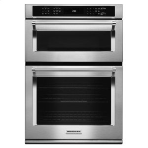 """30"""" Combination Wall Oven with Even-Heat True Convection (Lower Oven) - Stainless Steel Product Image"""