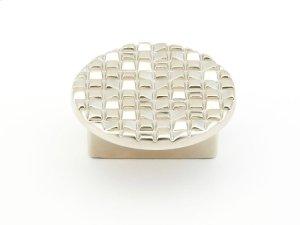 "Mosaic, Large Round Knob, 1-1/8"" diameter, Satin Nickel finish Product Image"
