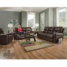 Desert-chocolate Loveseat 91001-40