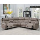 Aria LAF LS,DesertSand,1 Pwr -Pwr Recliner 62x44x42.5 Product Image