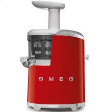 Smeg 50s Retro Style Design Aesthetic Slow Juicer, Red
