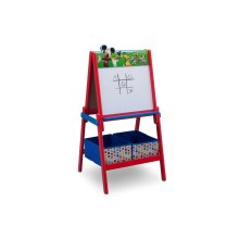 Disney Mickey Mouse Wooden Double Sided Easel with Storage by Delta Children - Mickey Mouse