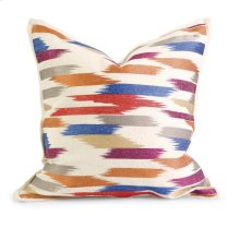 IK Naledi Embroidered Pillow w/ Down Fill