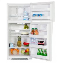 Crosley Top Mount Refrigerators(Two Glass Refrigerator Shelves (Fixed))