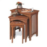 """Mission Oak"" 3-Pc. Nested Tables Product Image"