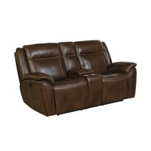 Holbrook Brown Loveseat