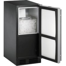 """Stainless Right-hand 2000 Series / 15"""" Crescent Ice Maker"""