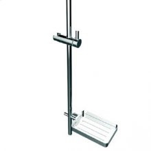 TH400 Handshower Slide Bar Mount - Polished Chrome