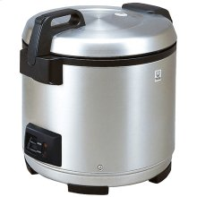 Commercial Rice Cookers / Warmer in Stainless Black - 3.6L (20cups)