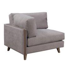 Corner Chair-dune Gray