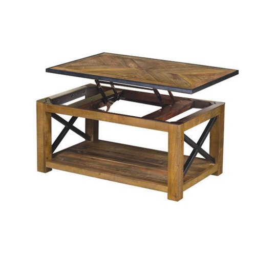 Lift Top Cocktail Table (w/Casters)