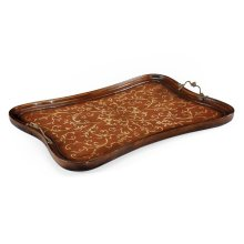 Rectangular Seaweed Marquetry Tray