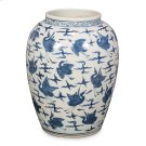 Blue & White Ceramic Vase Product Image