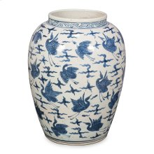 Blue & White Ceramic Vase