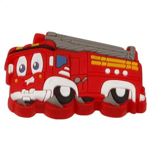 Kids Red Fire Engine Cabinet Knob Product Image