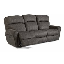 Langston Fabric Power Reclining Sofa with Power Headrests