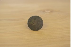 """1"""" Unfinished 10 Pack Wavy Round Clavos Product Image"""