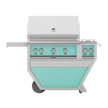 "36"" Hestan Outdoor Deluxe Grill with Double Side Burner - G_BR__CX_ Series - Bora-bora"