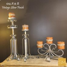 & B Iron Candle Holder