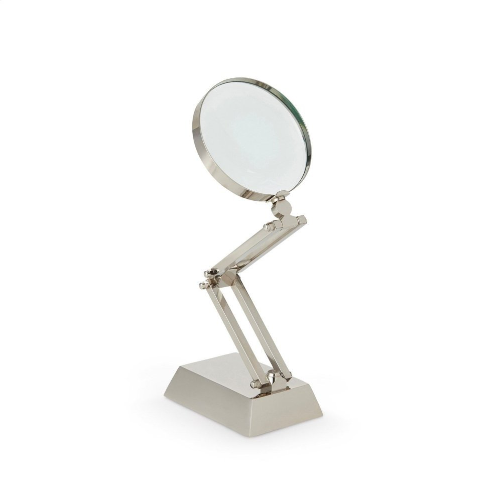 Anders Articulating Magnifying Glass, Nickel