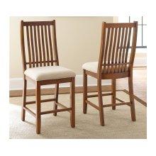"Kayan Counter Chair,18""x23""x46"""