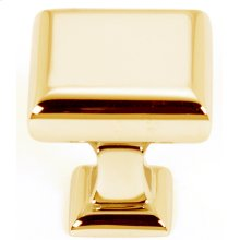 Manhattan Knob A310-1 - Polished Brass