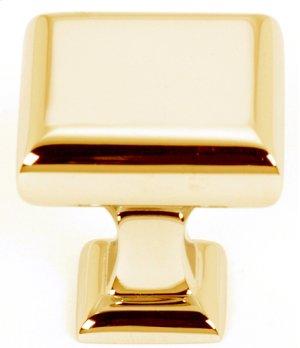 Manhattan Knob A310-1 - Polished Brass Product Image