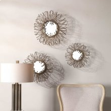 Elin Mirrored Wall Decor, S/3