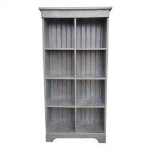 8-Cube Bookcase - Vin Grey ov Blk