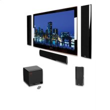 The ideal home theater speaker system for ultra-slim flat panel TVs
