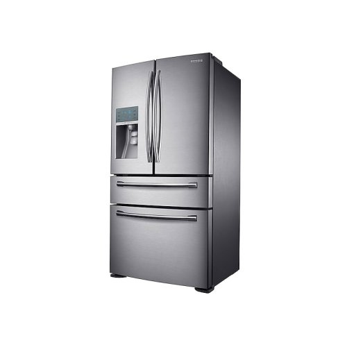 23 cu. ft. Counter Depth 4-Door Refrigerator with FlexZone Drawer in Stainless Steel