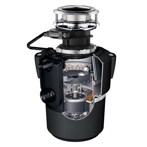 Evolution Pro Cover Control Plus Garbage Disposal with Batch Feed with Cord, 7/8 HP