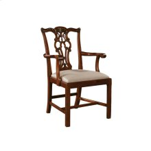 MASSACHUSETTS REGENCY MAHOGANY ARM CHAIR